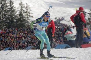 """Збірна України виграла """"бронзу"""" на передостанньому етапі Кубка світу з біатлону"""