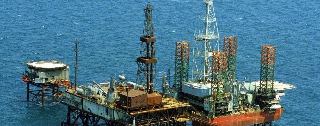 Россия продолжает добычу газа на спорном Одесском месторождении в море возле Крыма