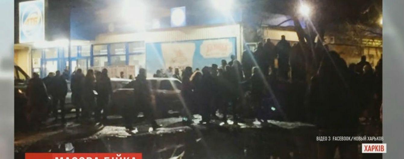 У Харкові поліція завадила масовій бійці 200 молодиків