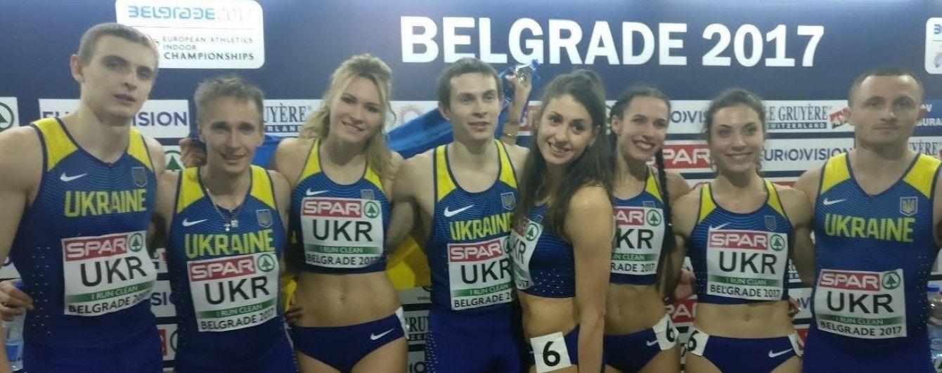 Українські легкоатлети виграли 5 медалей чемпіонату Європи у приміщенні