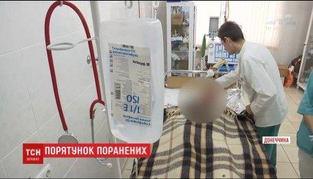 Врачей Днепра беспокоит состояние двух бойцов с минно-взрывными ранениями