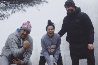 Физкульт-привет: Каменских и Потап вместе вышли на утреннюю пробежку