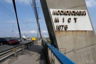 В Киев из-за ДТП образовалась пробка на Северном мосту