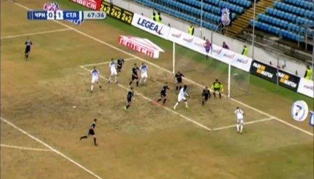 Черноморец - Сталь - 0:1. Видео-обзор матча