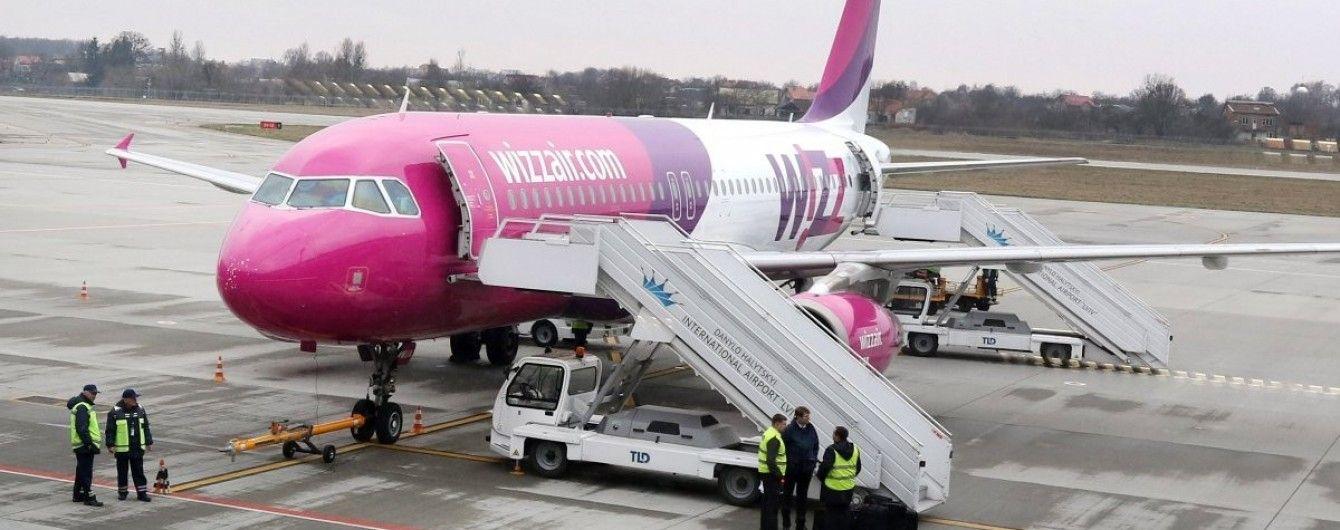 Wizz Air підвищиввартістьпріоритетноїпосадкита реєстрованогобагажу