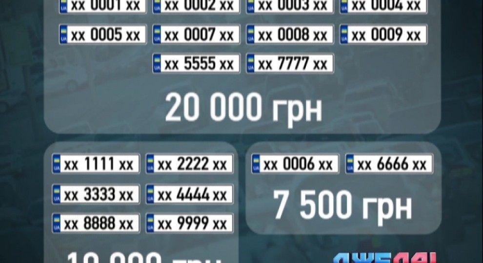 сколько стоит дубликат номера на авто