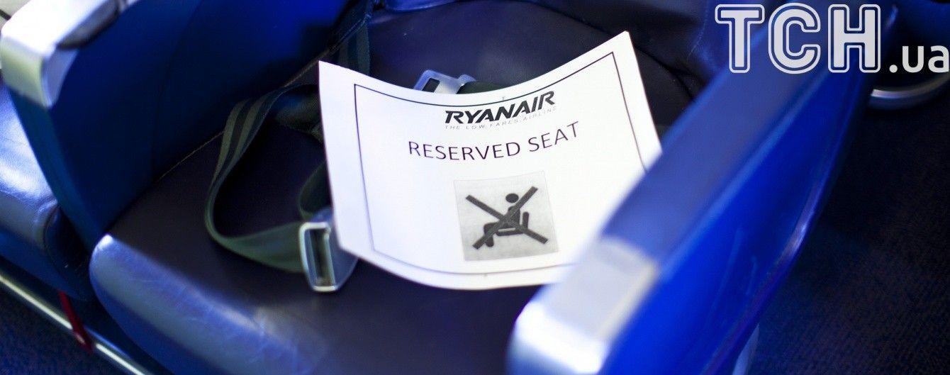 Лоукостер Ryanair объявил о маршрутах из Киева