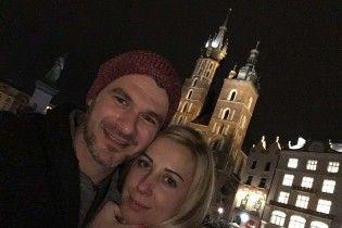 Романтика на двох: Матвієнко та Мірзоян відпочили у Кракові