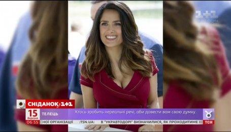 Сальма Хайек заявила, что не верит в ботокс