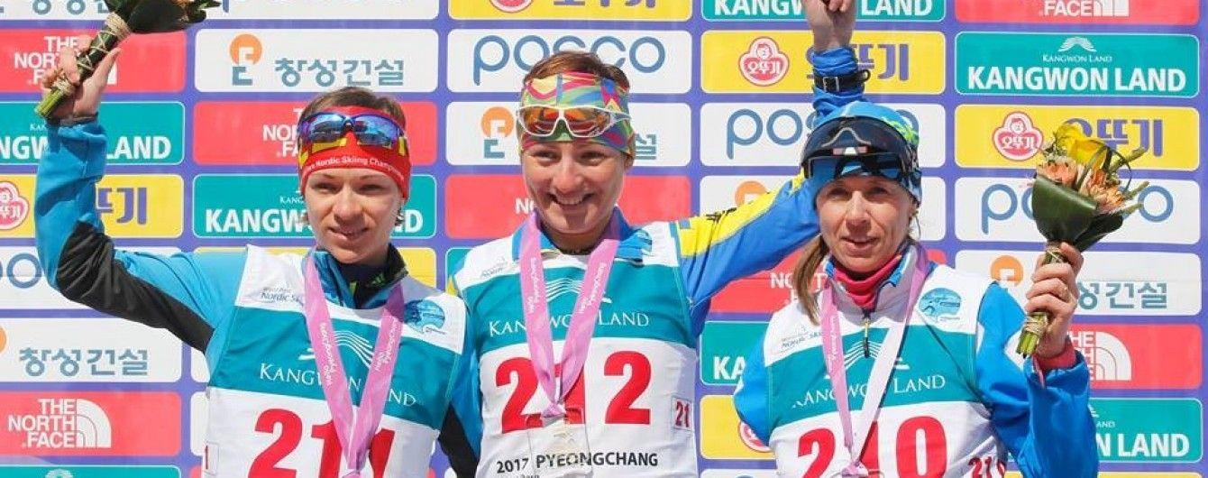 Украинские паралимпийцы завоевали 34 медали на Кубке мира по лыжным гонкам и биатлону