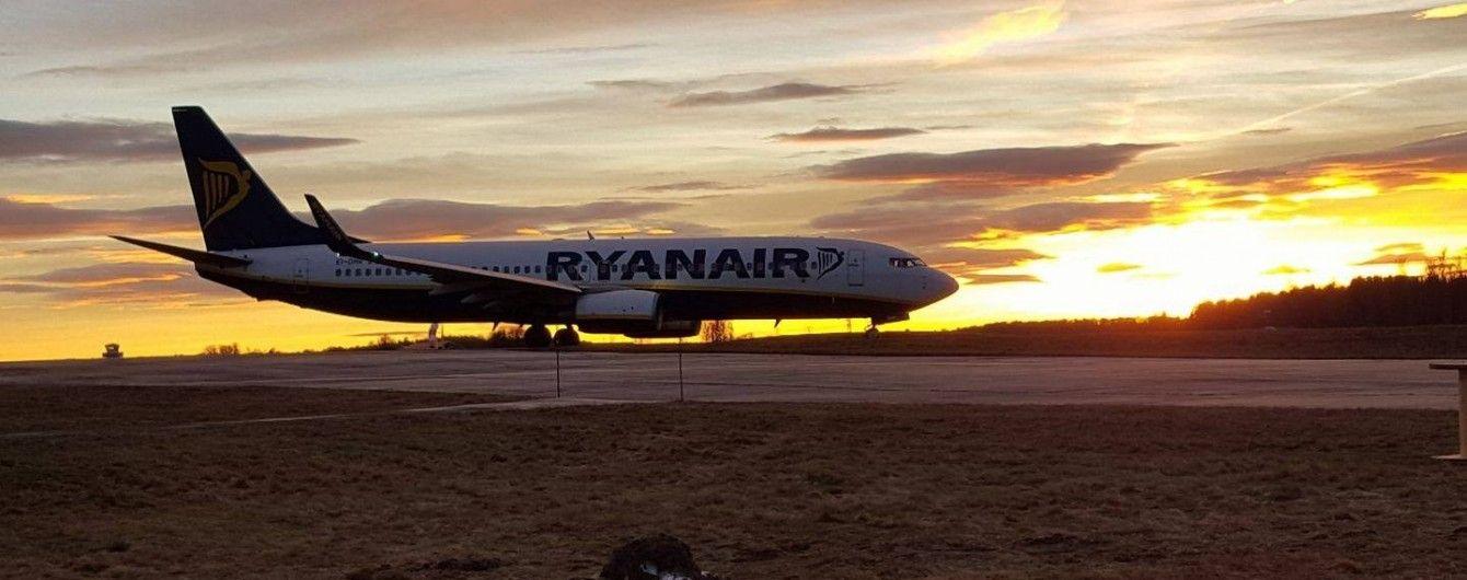 """Ryanair """"навіть з урахуванням усіх знижок"""" не погоджується на ціни аеропорту """"Бориспіль"""""""