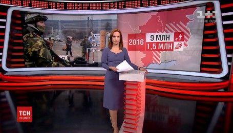 На Донбассе работает пять контрольно-пропускных пунктов