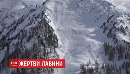 В австрійських Альпах під сніговою лавиною загинуло четверо людей