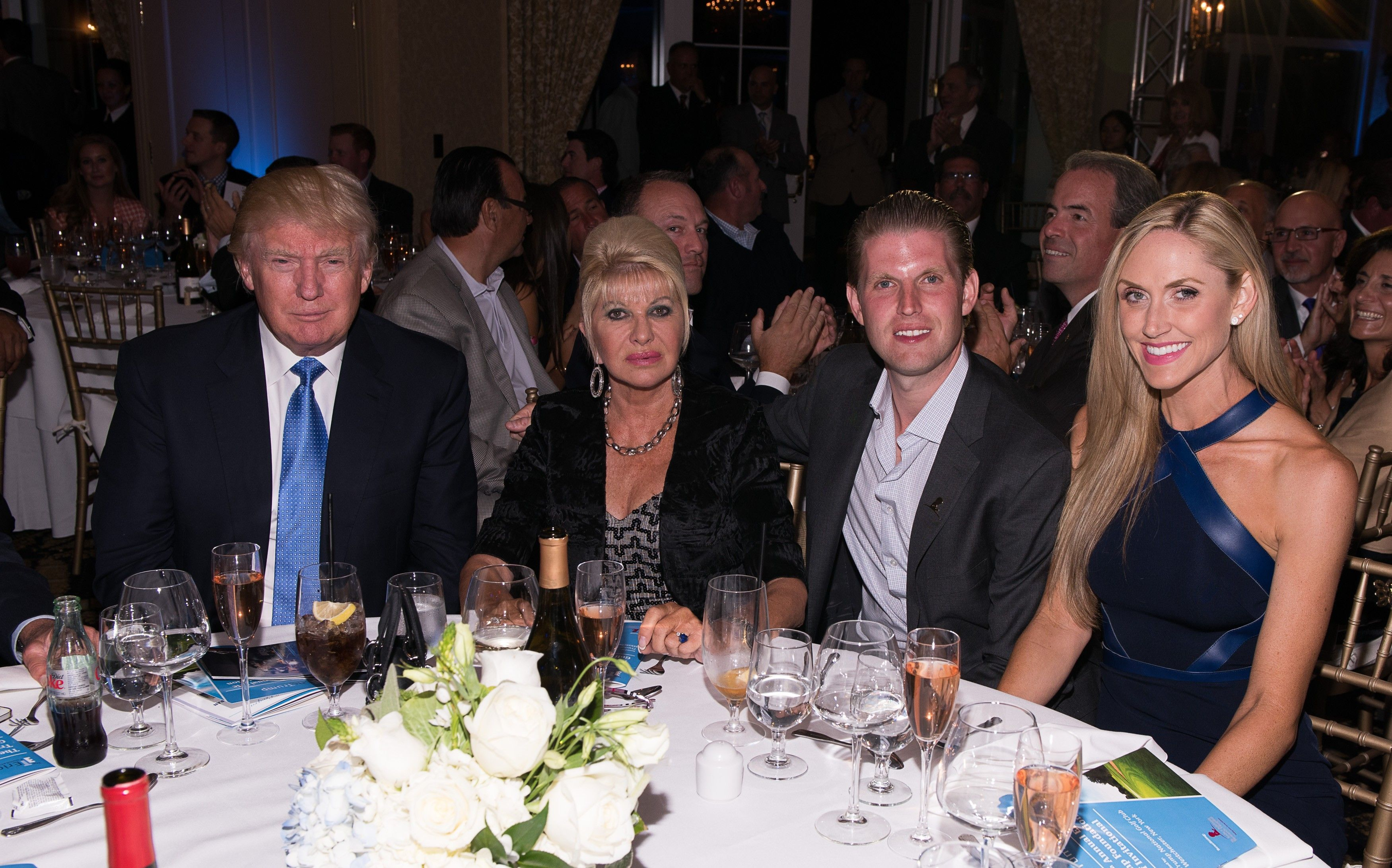 Дональд та Івана Трамп