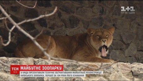 На модернізацію столичного зоопарку виділили 200 мільйонів гривень