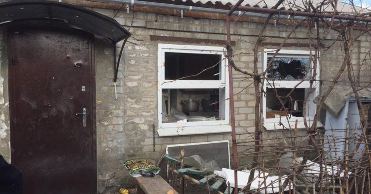 Наслідки обстрілу Авдіївки @ facebook.com/Вячеслав Аброськін