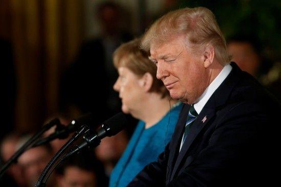 Меркель і Трамп телефоном обговорили ситуацію у Сирії та на Сході Україні