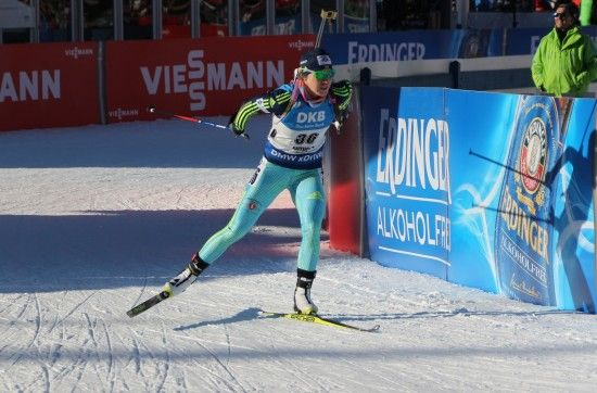 Українки фінішували в топ-10 біатлонної естафети в Обергофі