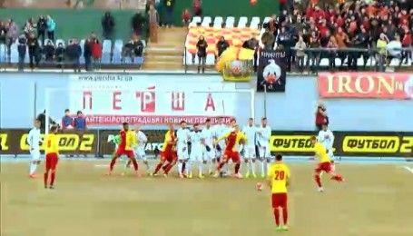 Захисник Зірки Андрій Бацула став автором найкрасивішого голу 21 туру