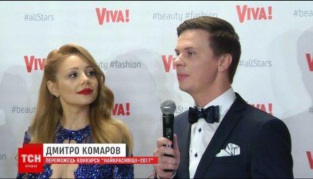 Читатели журнала Viva назвали самыми красивыми Тину Кароль и Дмитрия Комарова