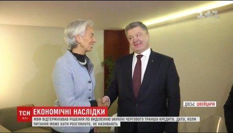 МВФ переніс розгляд питання про виділення Україні траншу кредиту