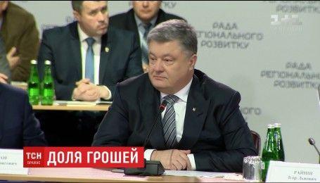Порошенко заявив, що причиною відтермінування траншу МВФ є блокада торгівлі з ОРДЛО
