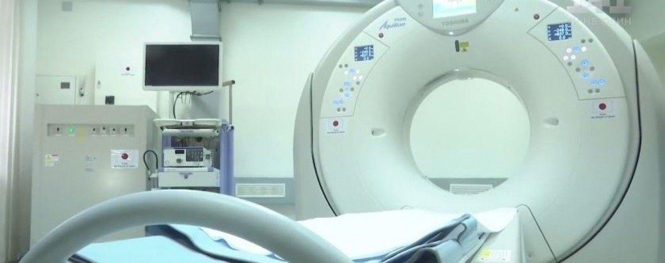 Японія подарувала військовому госпіталю у Вінниці надсучасний томограф за півмільйона доларів