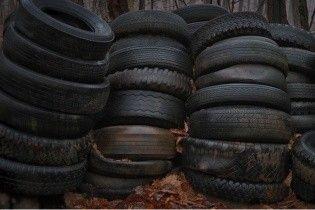 В Киеве открыли 10 пунктов утилизации автомобильных шин: когда и куда приносить изношенную резину