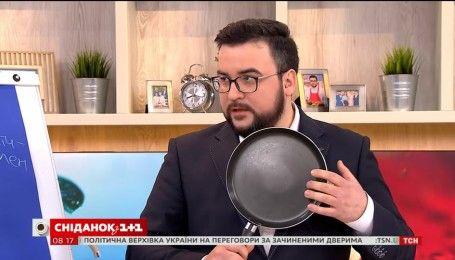 Тефлоновая, керамическая или чугунная – выбираем сковороду вместе с Глебом Репичем