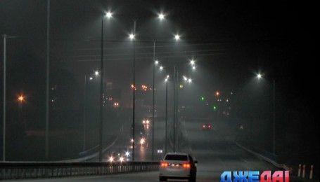 На трассе Киев-Чоп установили современное LED-освещения