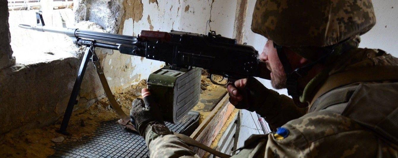 Ситуация на Донбассе: боевики трижды применили запрещенное вооружение