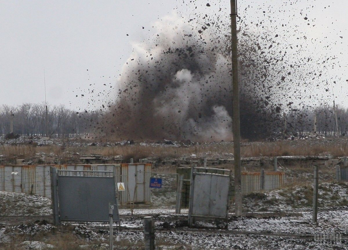 Ліквідація боєприпасів у Новобогданівці