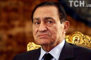 Умер бывший египетский диктатор Хосни Мубарак