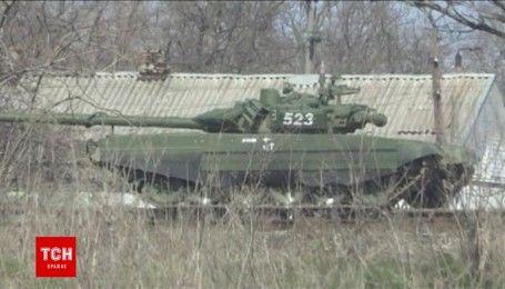 Колона танків була помічена в Ростовській області на кордоні з Україною