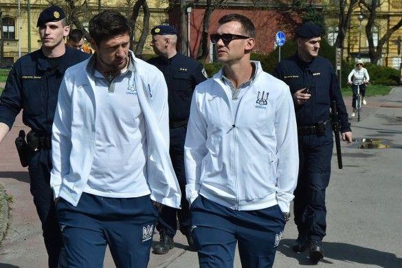 Прогулянка збірної України у Загребі_2
