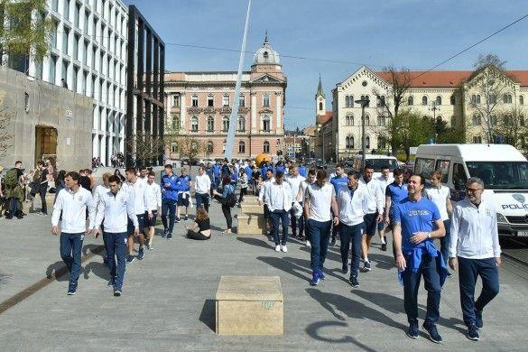 Прогулянка збірної України у Загребі_3