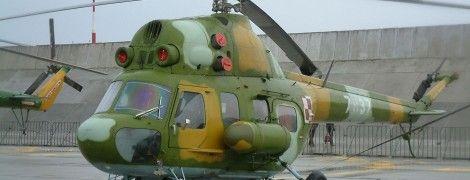 На Львівщині розбився військовий вертоліт Мі-2
