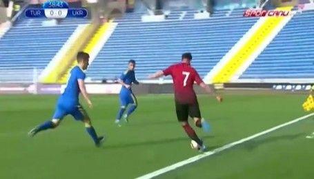 Молодежная сборная Украины вничью сыграла товарищеский матч против Турции