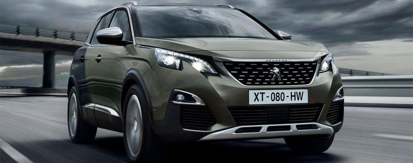 """Peugeot планирует выпустить """"заряженную"""" версию кроссовера 3008"""