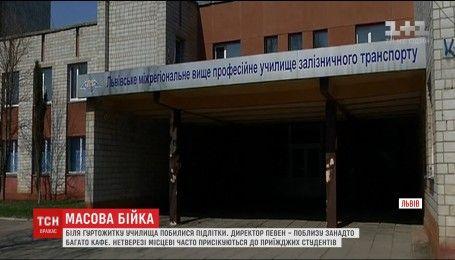 Под стенами львовского общежития произошла массовая драка между студентами и местными жителями