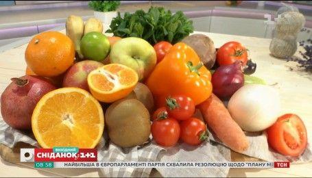 Как тщательно вымыть овощи и фрукты - Совет на минуту