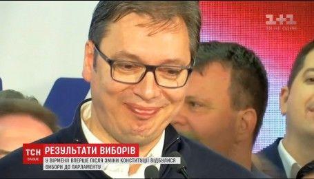 Пророссийский кандидат победил на президентских выборах в Сербии