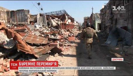 Боевики нарушают объявленный с 1 апреля режим тишины вдоль всей линии соприкосновения