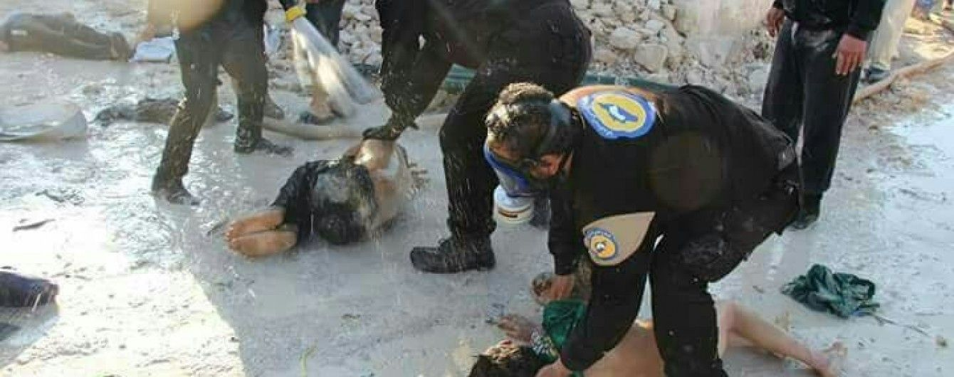 Сирійський Ідліб зазнав газової атаки: серед десятків загиблих є діти