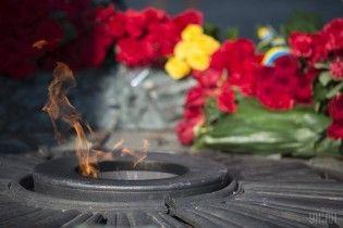 У Києві вандали вкрали деталі Вічного вогню