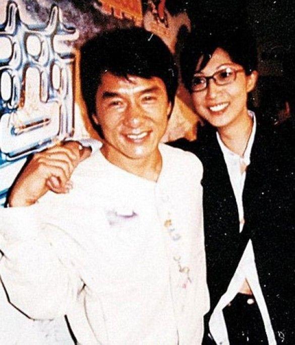 Джекі Чан з екс-дівчиною