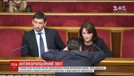 Корчак требует независимого аудита НАПК