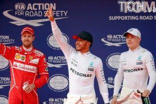 Хемілтон виграв кваліфікацію Гран-прі Китаю