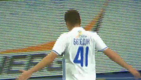 Динамо - Олімпік - 1:0. Відео голу Бєсєдіна