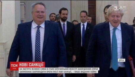 Британський дипломат пропонує ввести нові санкції проти Росії